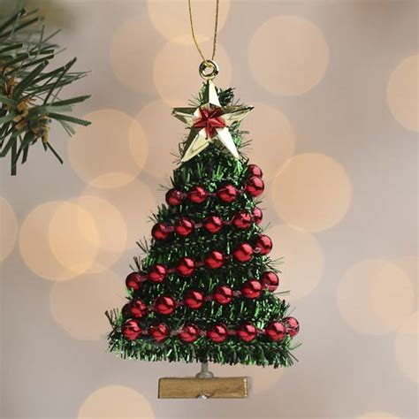 miniature christmas tree ornament christmas miniatures