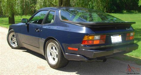 Rare Copenhagen Blue Metallic Color 944 Turbo