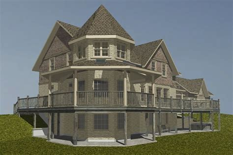 turret house plans stunning house with turret 11 photos home building plans