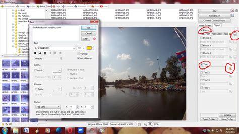 tutorial ambil gambar guna dslr bila kaki berjalan tutorial letak watermark pada gambar