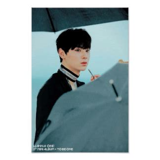 Poster Kpop A4 Wanna One Yoon Jisung kpop posters zazzle au