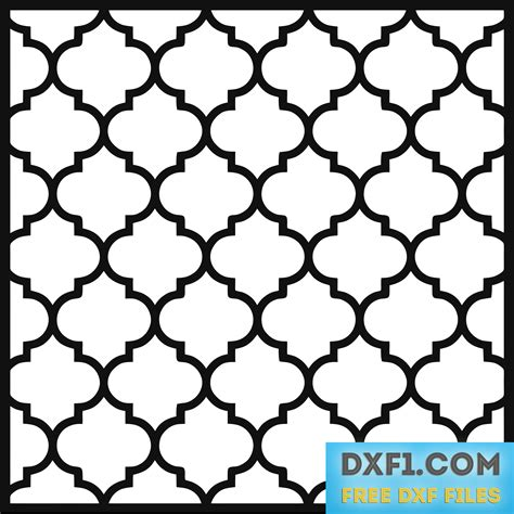 moroccan pattern png moroccan pattern cnc free dxf files free cad software
