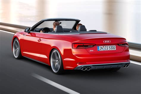 convertible audi 2017 audi s5 and a5 cabriolet chop their tops at la by car