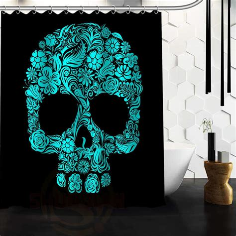 Skull Bathroom Set Get Cheap Skull Shower Curtain Aliexpress Alibaba