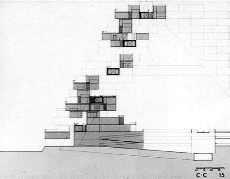 Modular Wall Units habitat 67 planning and architectural drawings