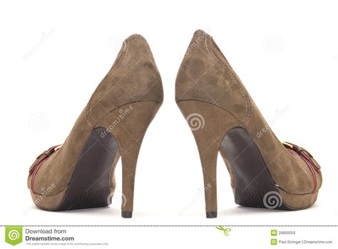 brown high heel brown high heels royalty free stock images image 26800059