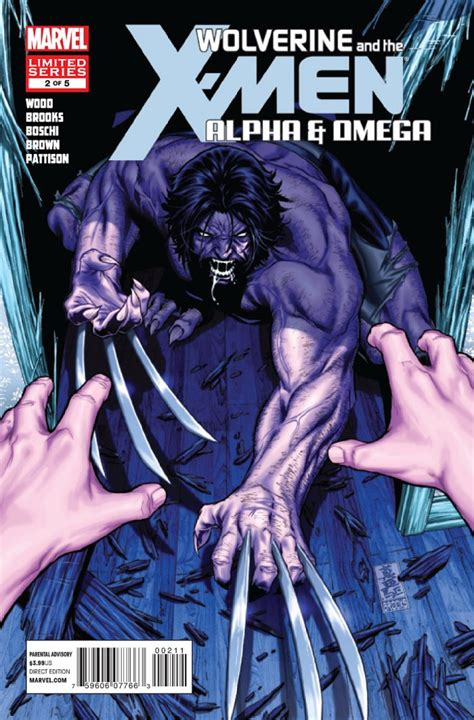 Wolverine And X Tp Alpha And Omega Marvel Comics wolverine and the alpha and omega 2 of 5