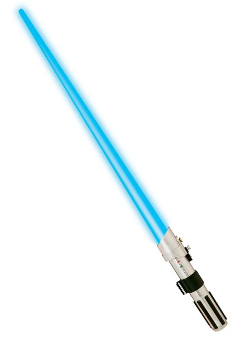 luke skywalker blue lightsaber jedi wars