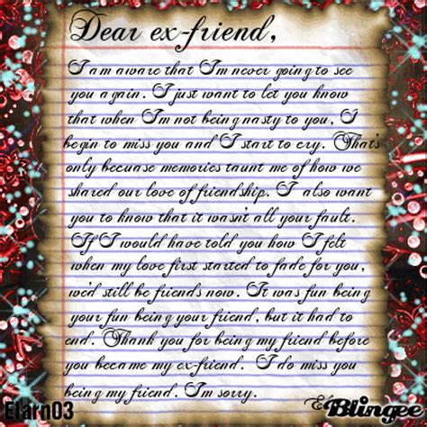 thanks for being my m dear ex friend thank you for being my friend before you