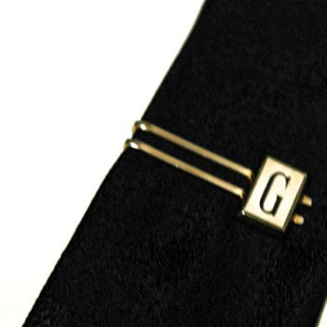 best monogram tie bar products on wanelo