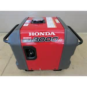 Honda Eu3000 Honda Eu3000is Generator Inverter