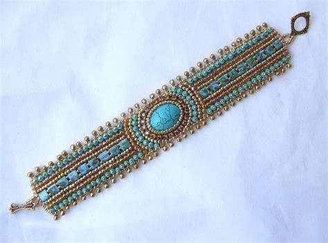bead embroidery bracelets best 25 bead embroidered bracelet ideas on