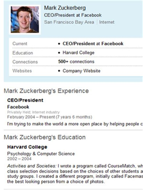 Famous Resumes: What Job Seekers Can Learn   MainStreet