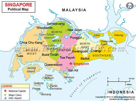 map of singapore singapore area guide yes to travel