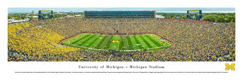 michigan state football stadium seating capacity michigan stadium facts figures pictures and more of
