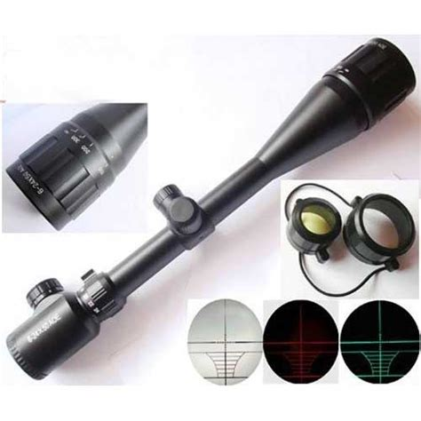 Bushnell 6 24x50 Green Rifle Scope Holograpic Sight Laser 6 24x50 aoe green rifle scope hsmal1846 54 17 top airsoft tactical