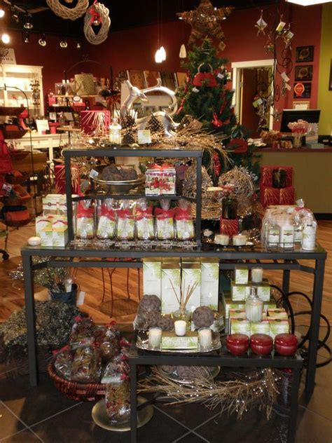 rustic holiday scents and decor table visual