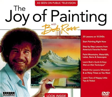 bob ross painting pbs new pbs the of painting with bob ross 10 dvd set as