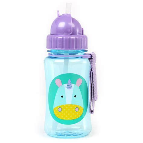 Skiphop Zoo Bottle skip hop zoo straw bottle unicorn akiddo