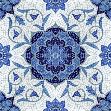 blue mosaic tiles design ideas 35 cobalt blue bathroom floor tiles ideas and pictures