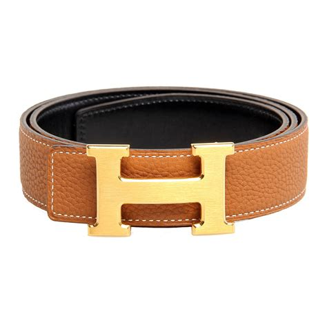 hermes belt box calf leather and togo leather with gold