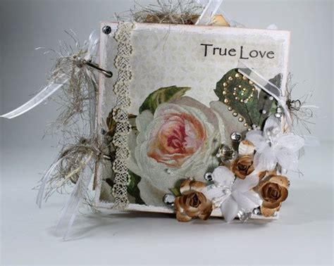 Handmade Wedding Album - handmade wedding scrapbook album chunky mini album photo