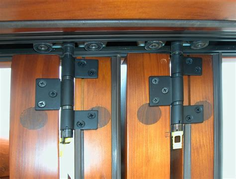 Heavy Duty Bi Fold Door Hardware by Installing Closet Bi Fold Doors Hardware