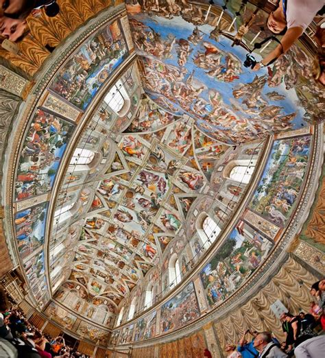 Michelangelo Sistine Ceiling by Best 25 Sistine Chapel Ceiling Ideas On