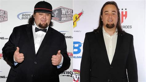 big hoss weight loss pawn stars corey and chumlee lose nearly 300 pounds