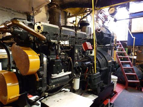 tugboat engine room tug seneca engine room tugster a waterblog