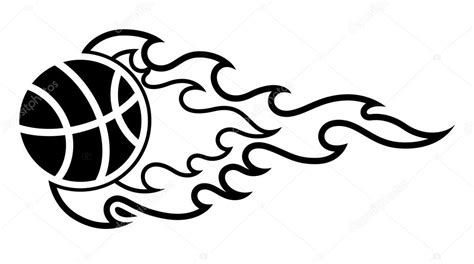 sport ball flame tattoo stock vector 169 baavli 13685574