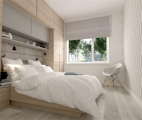 schlafzimmer ideen kleine räume viele h 228 ngeschr 228 nke 252 ber dem bett f 252 r mehr stauraum