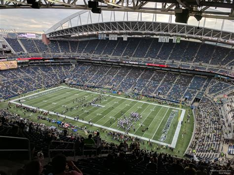 what sections are covered at centurylink field centurylink field section 304 seattle seahawks