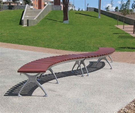 rounded bench seating s175 curved bench seating furniture for public spaces