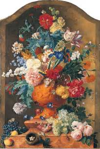 False Flowers In Vase File Jan Van Huysum Flowers In A Terracotta Vase Jpg