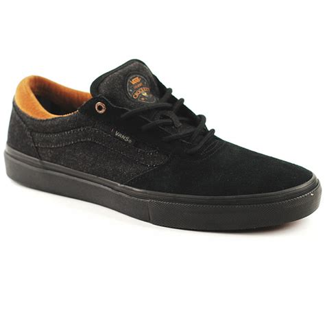 vans gilbert crockett pro denim black black forty two skateboard shop