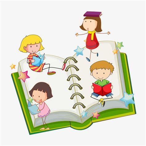 libro del dibujo infantil a un ni 241 o que lee dibujos animados diagrama vectorial libro abierto cartoon chico png y vector