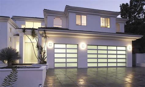 Modern Glass Garage Doors by The 7 Benefits Of Modern Glass Garage Doors