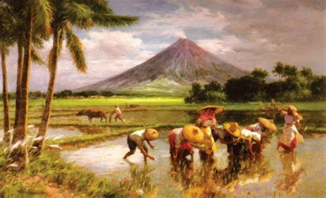 biography of filipino artist and their works art now and then fernando amorsolo