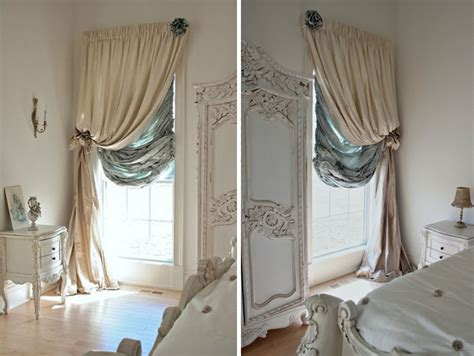 Different Ways To Drape Curtains Decor Easy Makeover Enhancing Curtains Interiorholic
