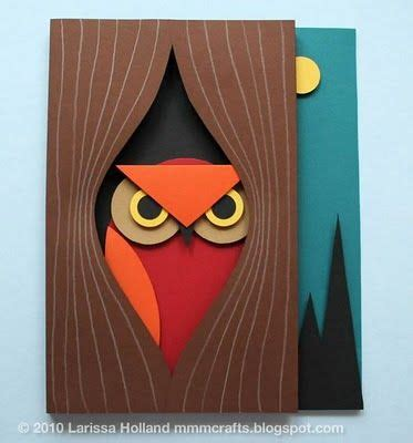 Different Paper Crafts - 25 best ideas about paper owls on met