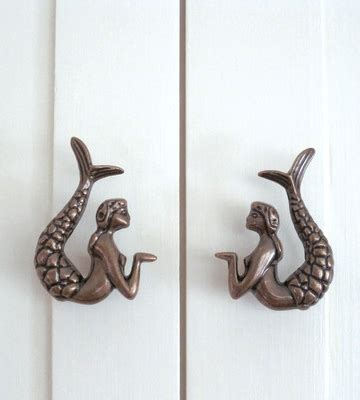 Mermaid Drawer Pulls by Dress Up Drawers With These Adorable Mermaid Pulls
