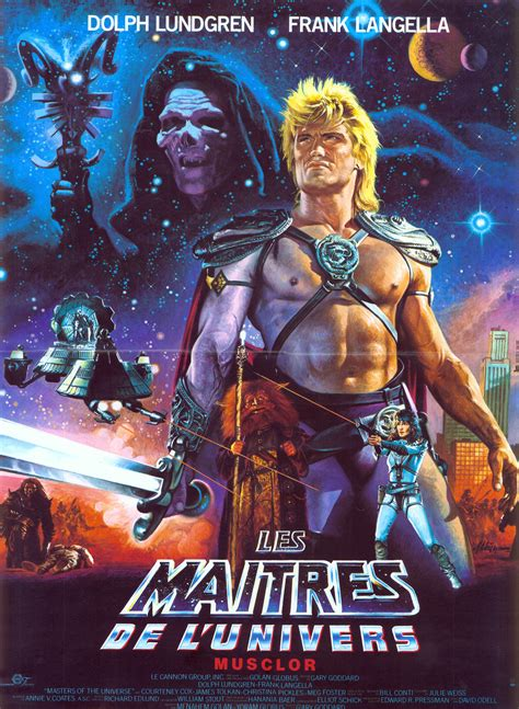 watch masters of the universe 1987 full movie official trailer poster for masters of the universe 1987 usa wrong side of the art