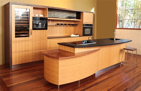 kitchen island wall cabinets cozy and natural bamboo floor in kitchen designs kitchen