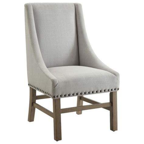 Upholstered Nailhead Dining Chairs Donny Osmond Home Florence Upholstered Dining Chair With Nailhead Trim Coaster Furniture