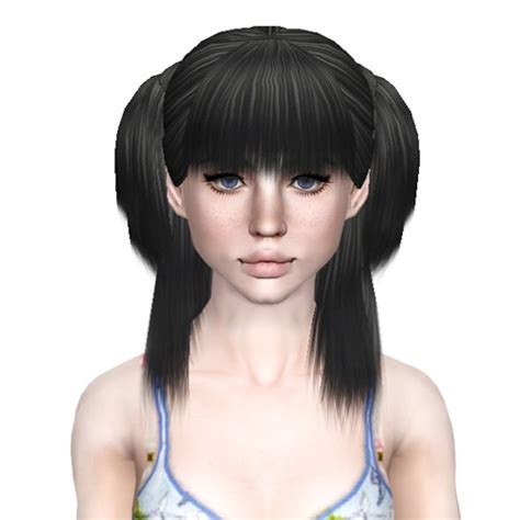 xm sims 3 the sims 3 free downloads hair the sims 3 pigtails hairstyle xm sims 5 retextured by sjoko