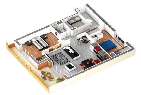 Plan 3d Appartement 4476 plan 3d appartement plans 3d d 39 appartements studio