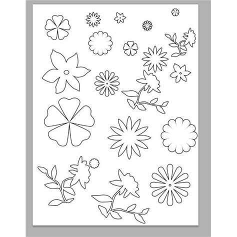 printable flowers for scrapbooking learn how to make your own scrapbook flowers