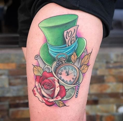 mad hatter tattoo in tattoos all things
