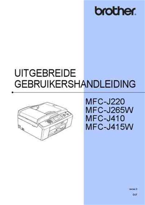 brother mfc j220 manual reset brother mfc j415w printer download manual for free now